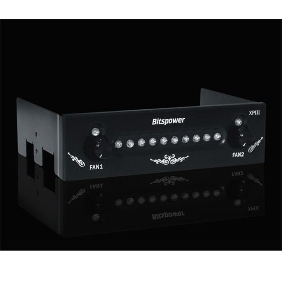 bitspower-fan-controlhdd-status-panel-blue-eye-for-525-bay-0610bp010201on
