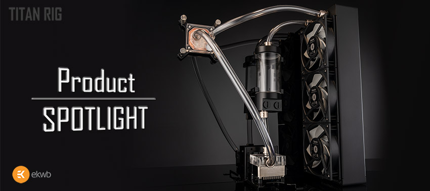 EKWB PC water cooling kit product overview