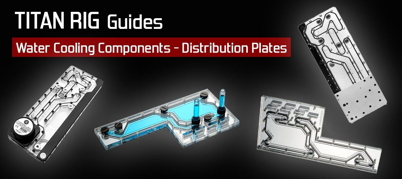 water cooling distribution plates overview