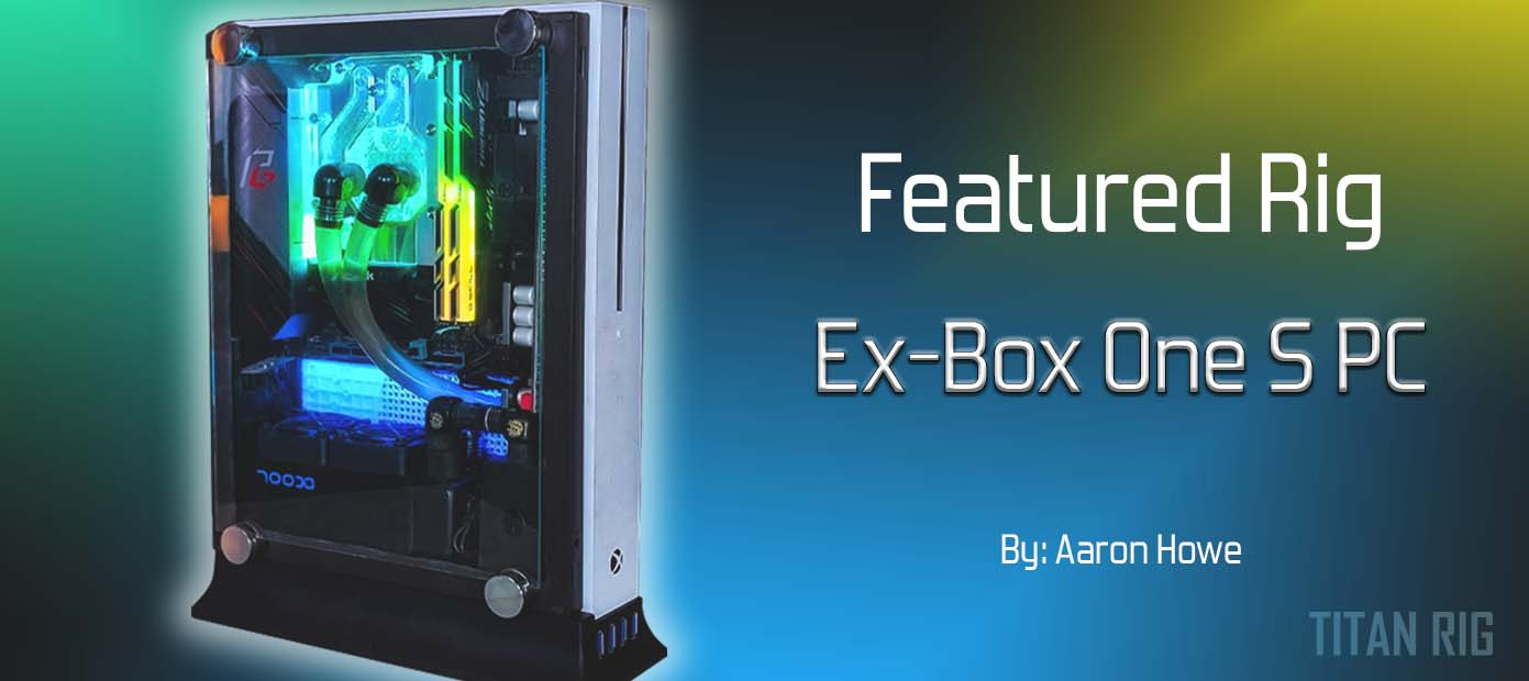 Featured Rig water cooled pc #4