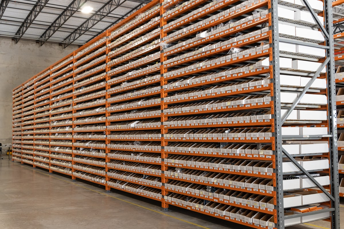 titan rig warehouse pallet racks